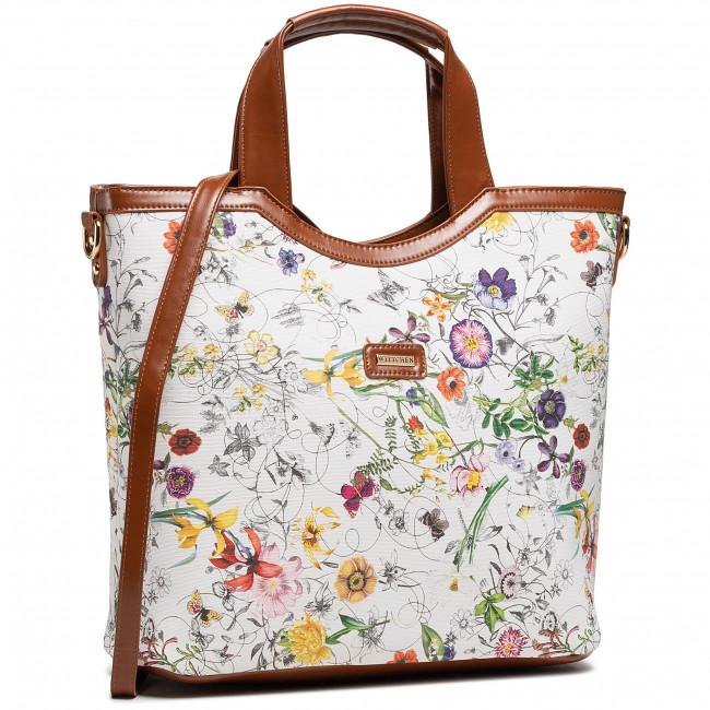 Handbag WITTCHEN - 92-4Y-631-0X Colourful White