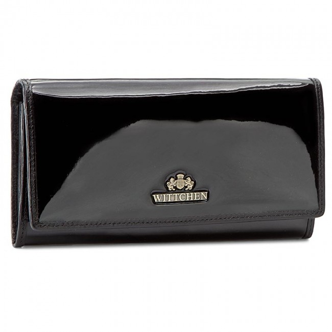 Large Women's Wallet WITTCHEN - Verona Wallet 25-1-075-1 Black
