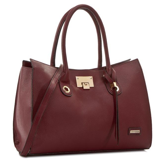 Handbag WITTCHEN - 81-4Y-201-2 Dark Red