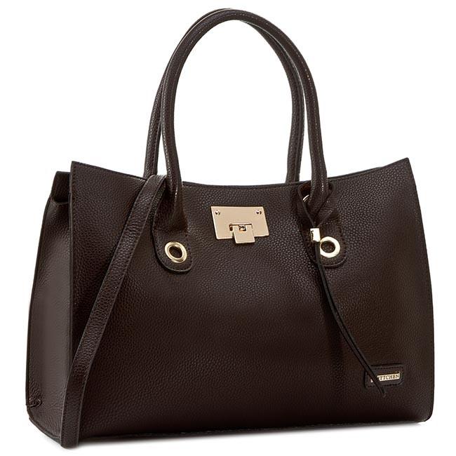 Handbag WITTCHEN - 81-4Y-201-4 Brown