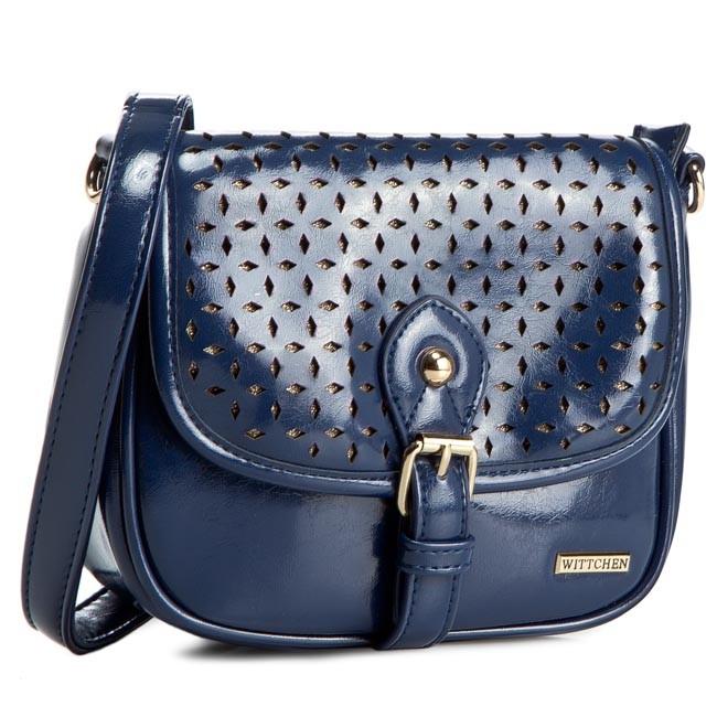 Handbag WITTCHEN - 81-4Y-772-7 Blue