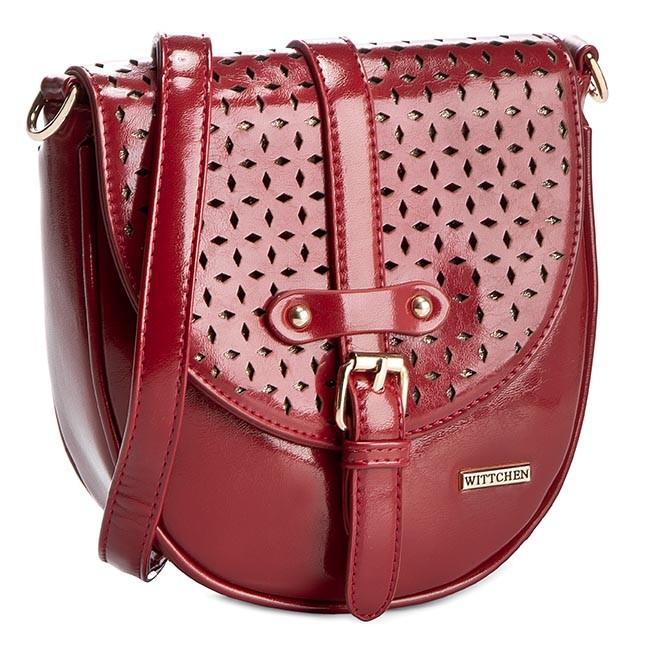 Handbag WITTCHEN - 81-4Y-774-3 Red