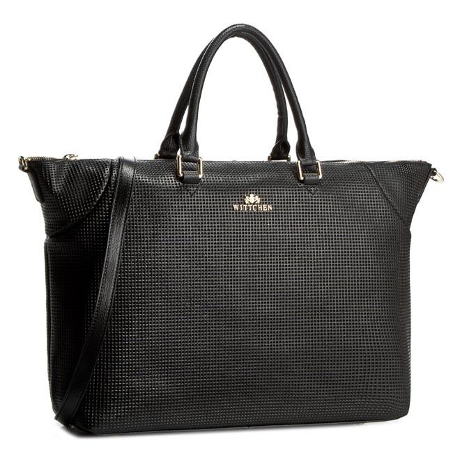 Handbag WITTCHEN - 81-4E-430-1 Black