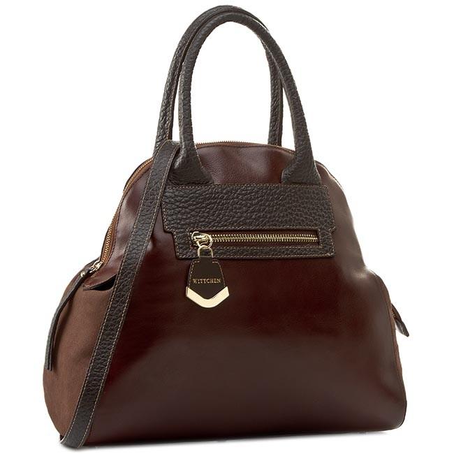 Handbag WITTCHEN - 81-4E-006-5 Brown