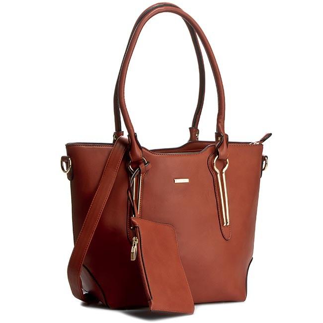 Handbag WITTCHEN - 81-4Y-605-5 Brown