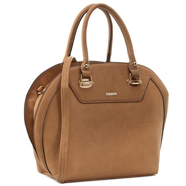 Handbag WITTCHEN - 81-4Y-824-5 Brown