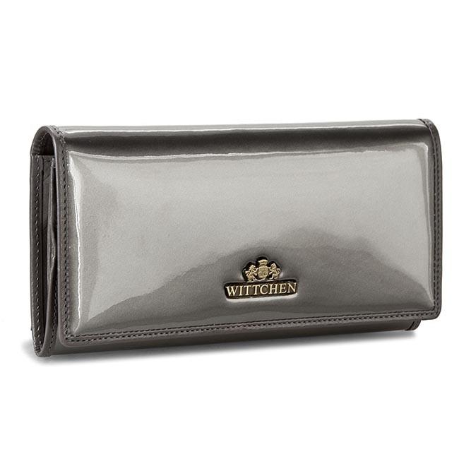 Large Women's Wallet WITTCHEN - 25-1-075-S Silver