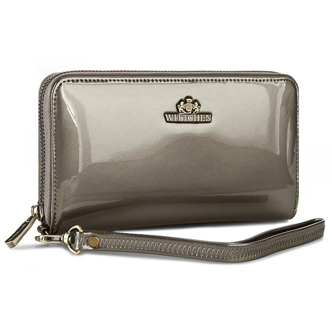 Large Women's Wallet WITTCHEN - 25-1-485-S Gray