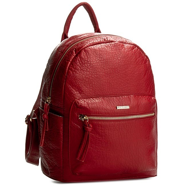 Backpack WITTCHEN - 82-4Y-779-3 Red
