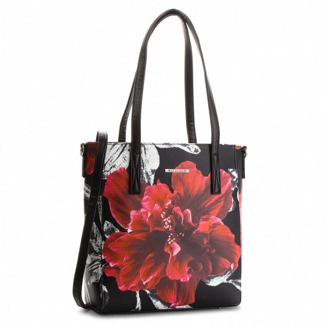 Handbag WITTCHEN - 86-4Y-401-1 Black Colourful