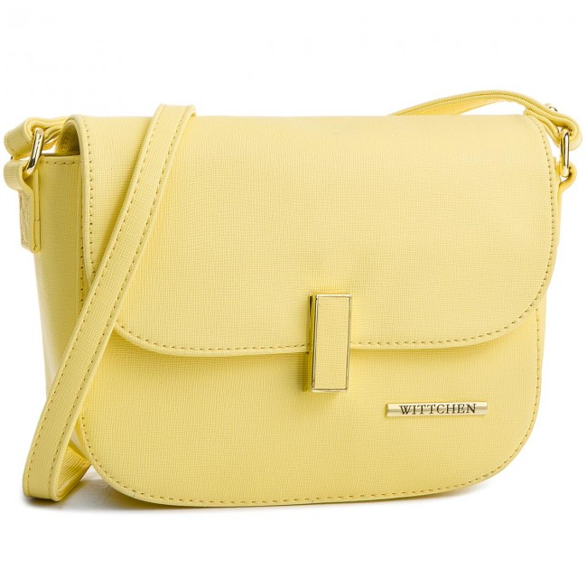 Handbag WITTCHEN - 86-4Y-402-Y Yellow