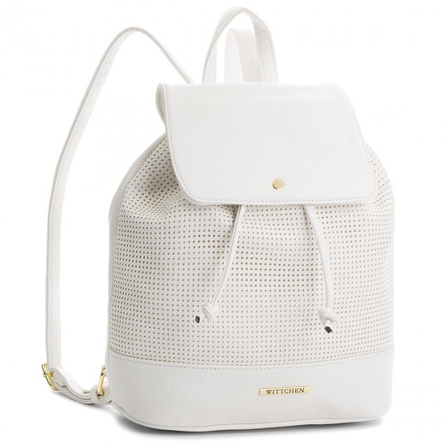 Backpack WITTCHEN - 86-4Y-405-0 White
