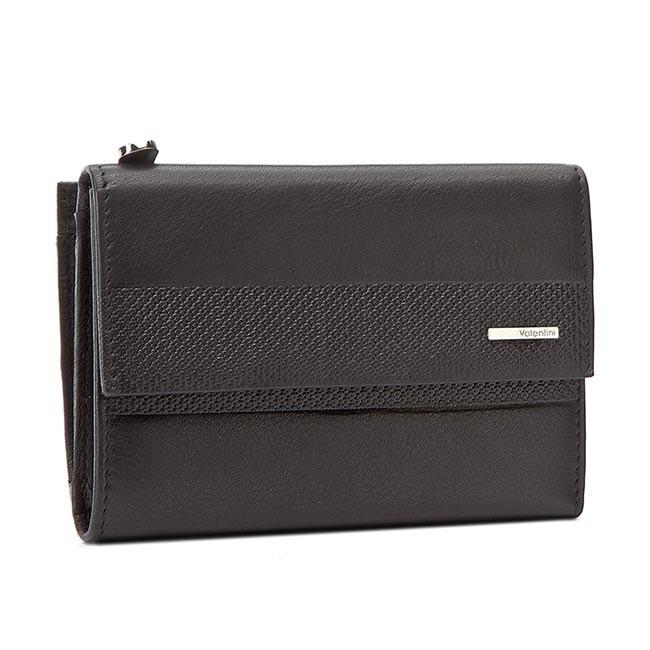 Large Women's Wallet VALENTINI - 001-01570-00P6 Black