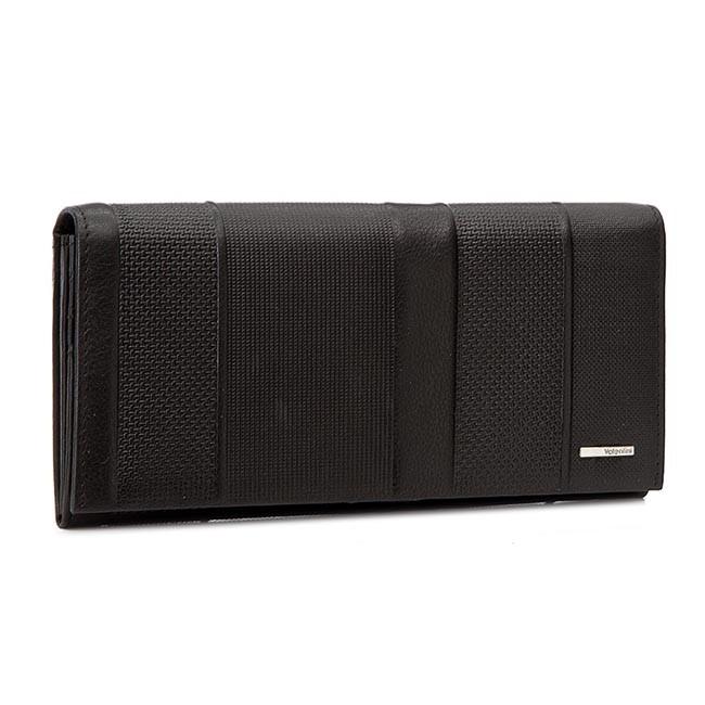 Large Women's Wallet VALENTINI - 001-01570-272 Black