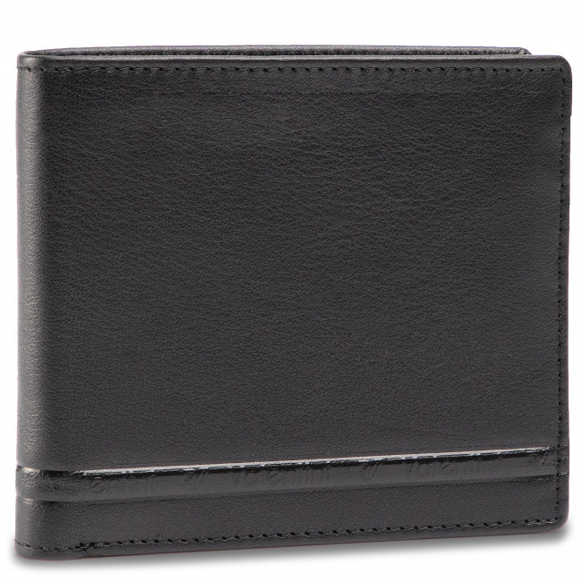 Large Men's Wallet VALENTINI - 001-0152S-0335-01 Black