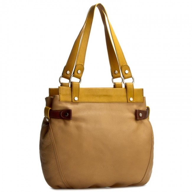 Handbag VERSO - 29857564AU Yellow