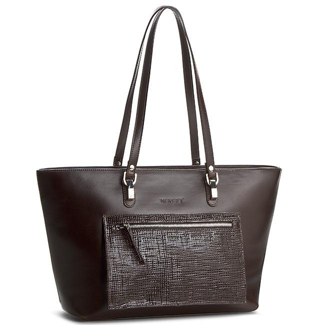 Handbag VERSO - 34319992MU Brown