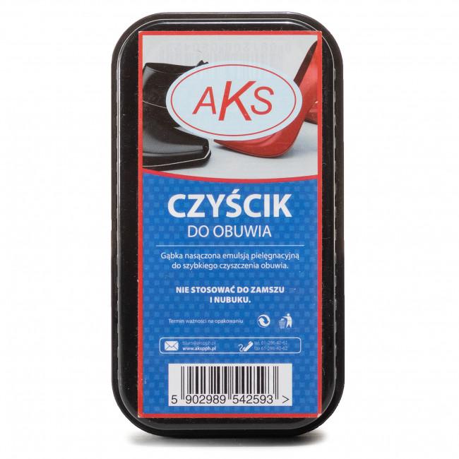 Shoe Cleaner AKS - Gąbka Nasączona Emulsją Pielęgnacyjną Czarny/Bezbarwny
