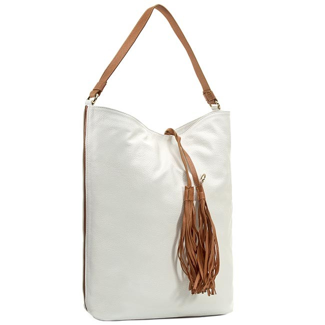 Handbag GINO ROSSI - XT2760-ELB-BGBG-1133-T Biały/Brąz