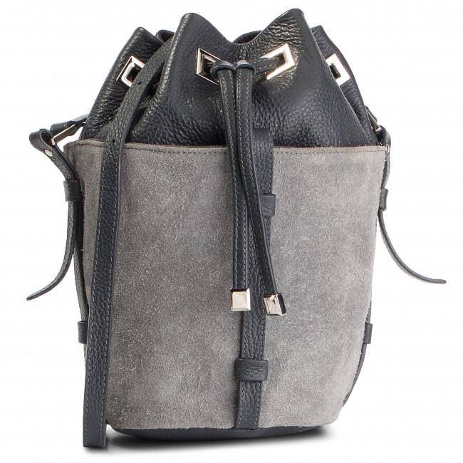 Handbag SIMPLE - XW3854-ELB-BGBW-1G9A-T Grafit
