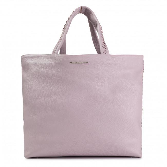 Handbag SIMPLE - XW3882-ELB-BGBG-0505-T L Pastelowy Róż/Brudny Róż