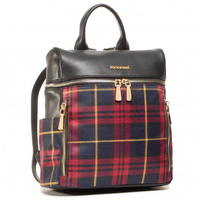 Backpack MONNARI - BAG7610-M05  Black With Red