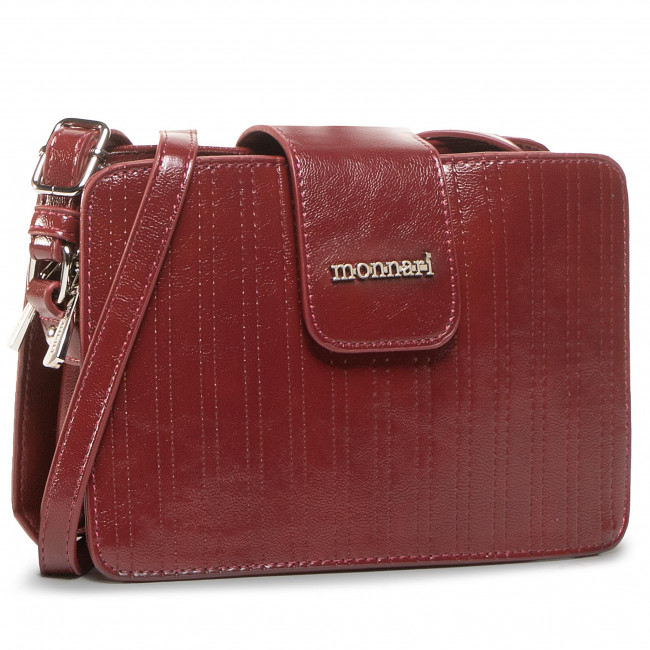 Handbag MONNARI - BAG8020-M05 Burgundy