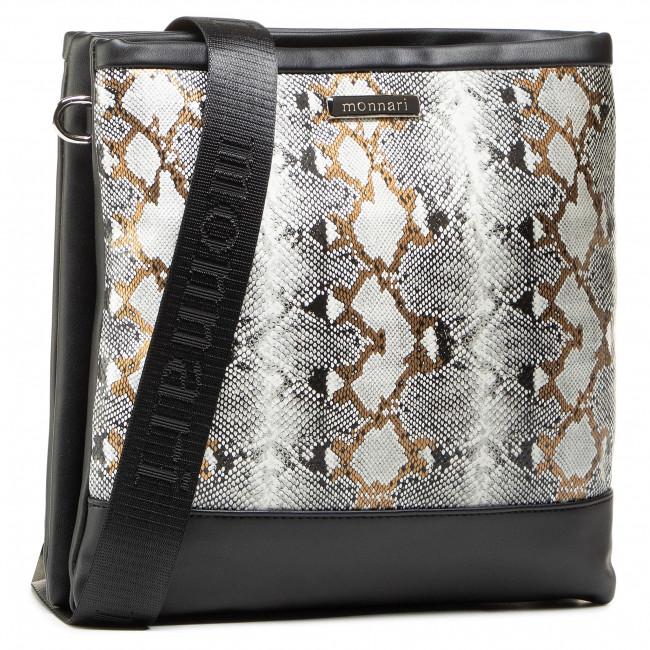 Handbag MONNARI - BAG0051-M00 White With Black