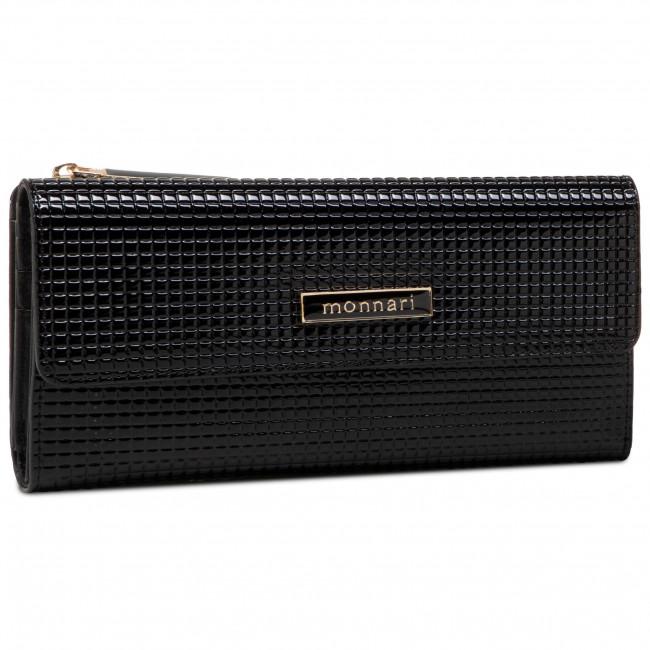 Large Women's Wallet MONNARI - PUR0301-020 Black