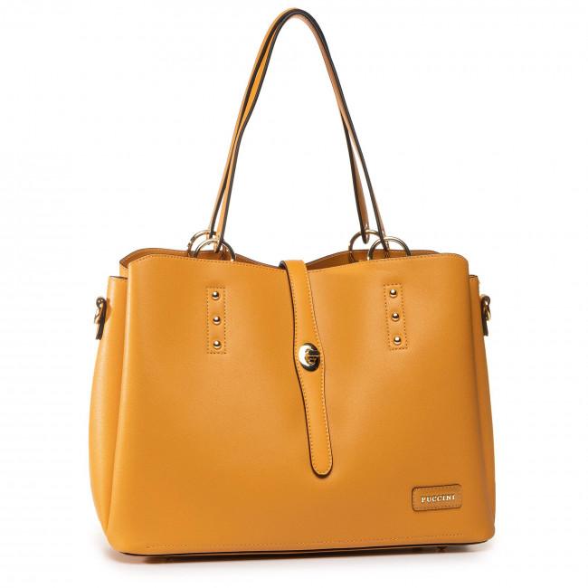 Handbag PUCCINI - BK120782 Żółty 6C