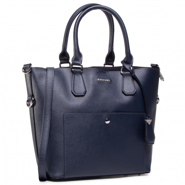 Handbag PUCCINI - BK220846 Granatowy 7A