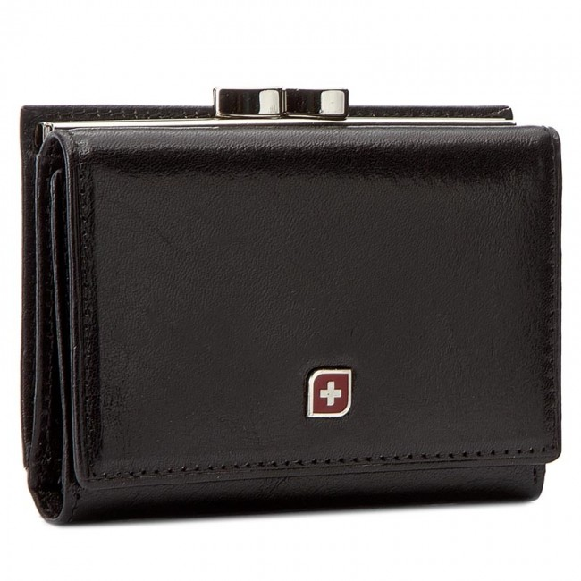 Small Women's Wallet GENEVIAN - 03-2306-01 Black