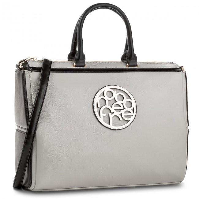 Handbag NOBO - NBAG-C0610-C015 Szary Z Czarnym