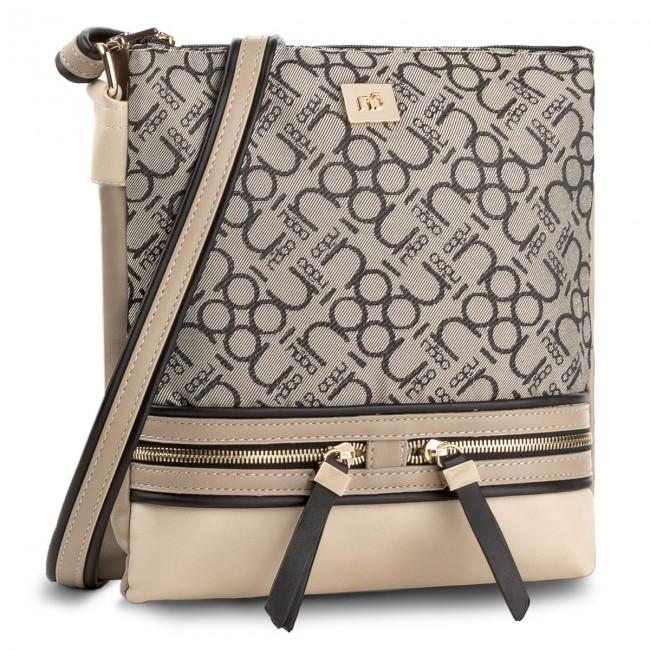 Handbag NOBO - NBAG-C1400-C020 Beige Grey