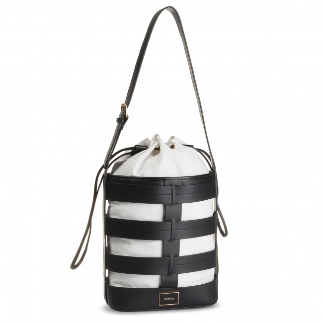 Handbag NOBO - NBAG-G1930-CM20 (TORBY Torby) Black White