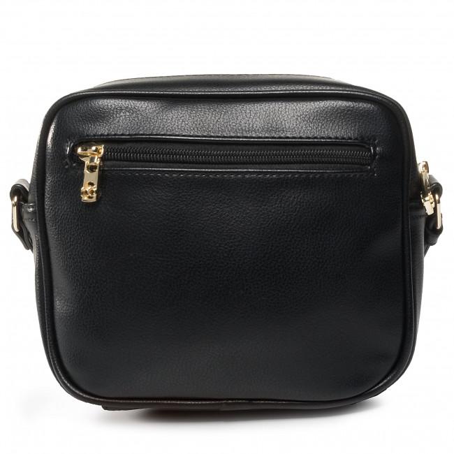 Handbag NOBO - NBAG-H0590-C020 Czarny z Bordowym