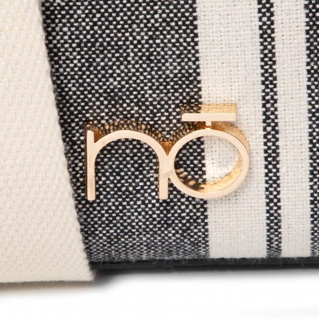 Handbag NOBO - NBAG-I4710-CM20 Black White