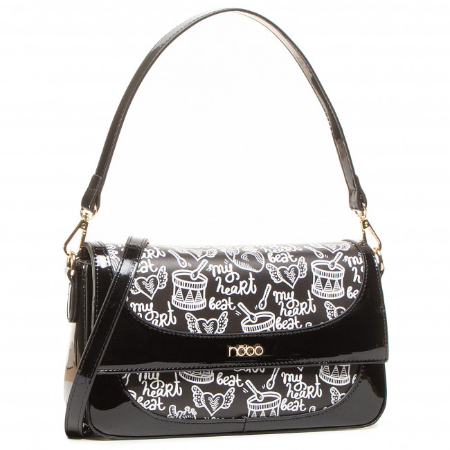 Handbag NOBO - NBAG-J1240-C020 Black