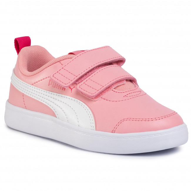 Sneakers PUMA Courtflex v2 V PS 37154303 Light Pink