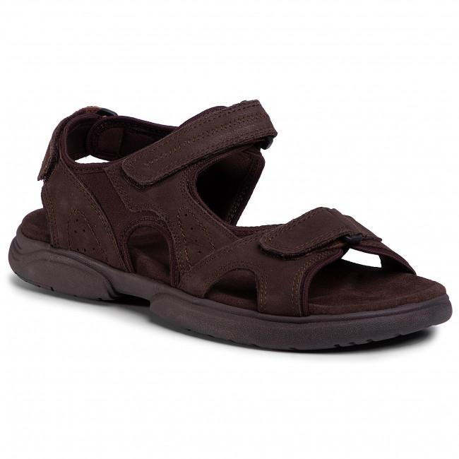 Sandals LASOCKI FOR MEN - MB-A452-25 Brown