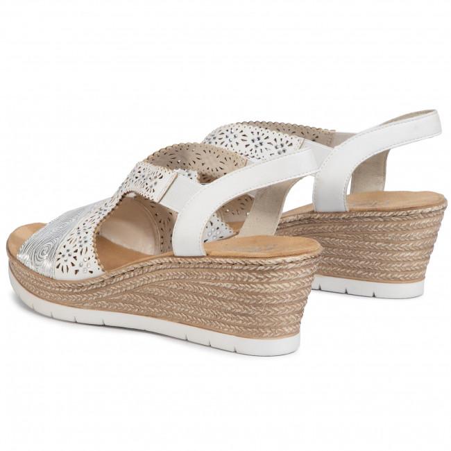 Sandals RIEKER 61916 80A White