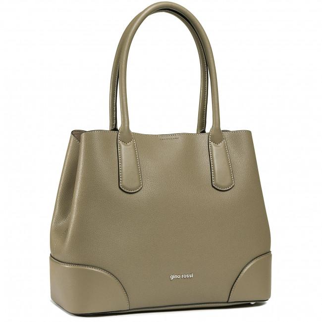 Handbag GINO ROSSI - CSN4988 Khaki