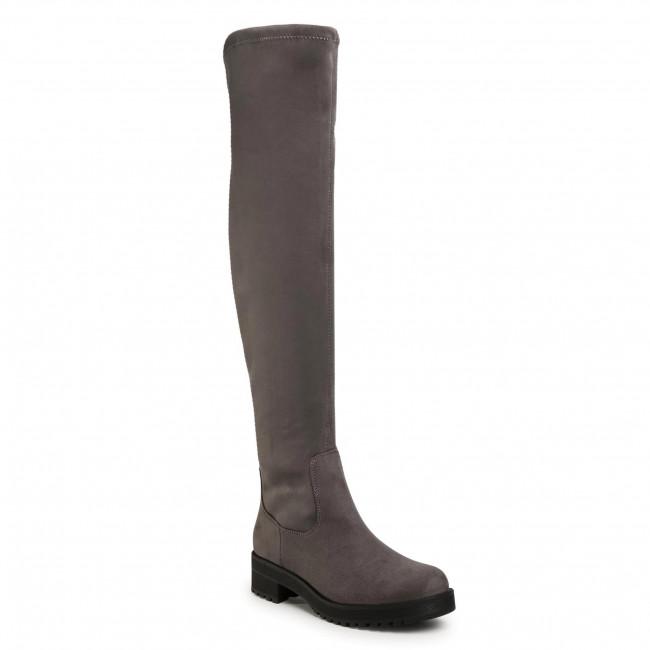 Over-Knee Boots JENNY FAIRY - WS5166-02 Grey