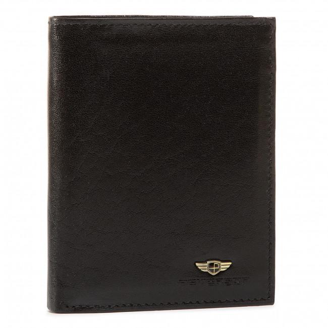 Large Men's Wallet PETERSON - 339-02-01-01 Black