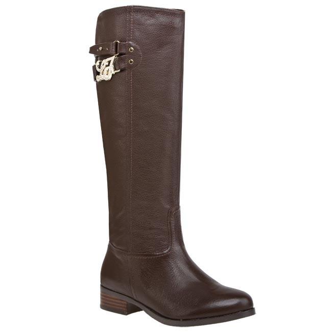 Knee High Boots LIU JO - Stivale Violaine Lj Corsivo S63057 P0158 Moro 00533