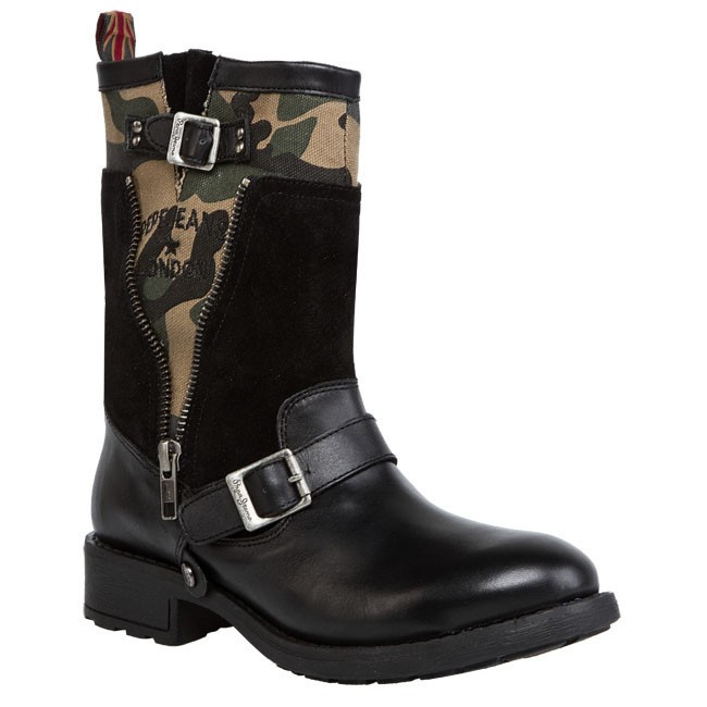Boots PEPE JEANS - PFS50330 Black