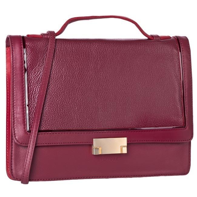 Handbag TOMMY HILFIGER - BW56921134  Red
