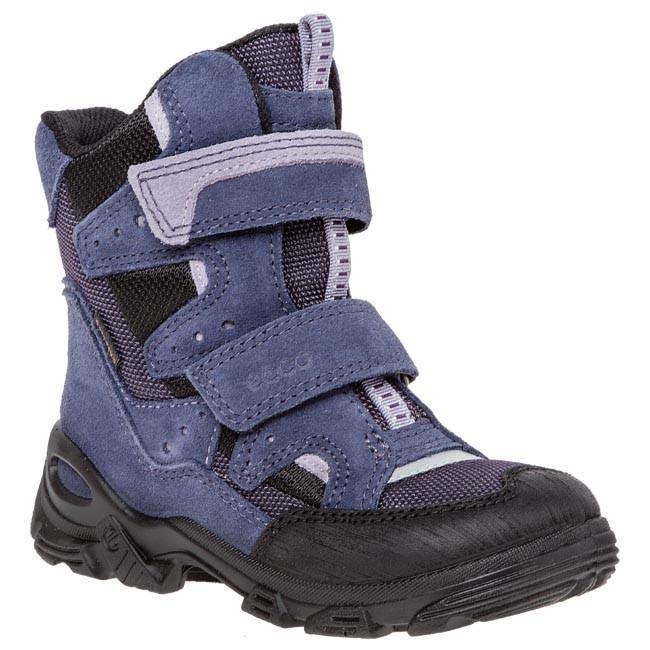 Knee High Boots ECCO Snowboarder 72105258208 BlackBlack Night ShadeIndigo