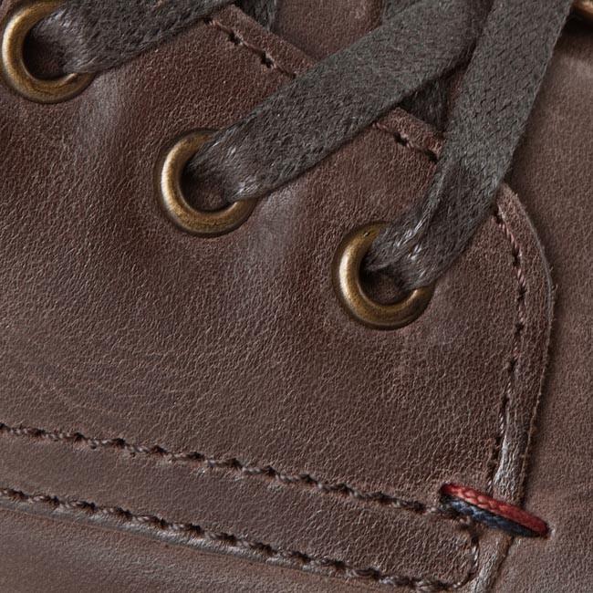 Boots TOMMY HILFIGER Carlos 14a FM56816013 Coffee 211
