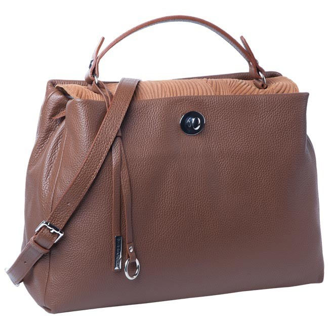 Handbag WITTCHEN - 77-4-223-5 Brown